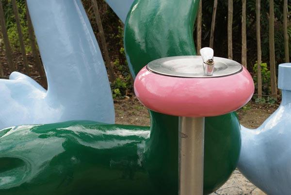 Meanwhile Gardens Drinking Fountain, Steve Bunn